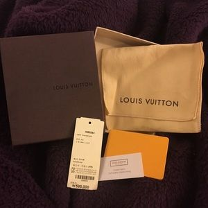 Louis Vuitton, Wallet Box